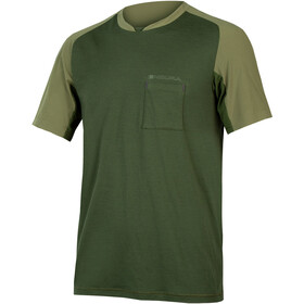 Endura GV500 Foyle Tee Men olive green